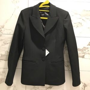 NWT Zara women jacket with lined button blazer
